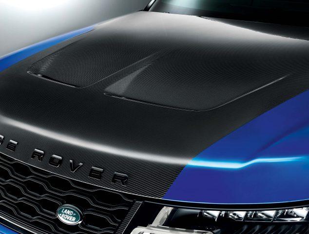 2018 Range Rover Sport SVR - carbonfiber hood