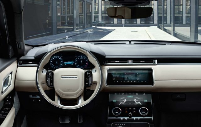 2018 Range Rover Velar - interior, dashboard