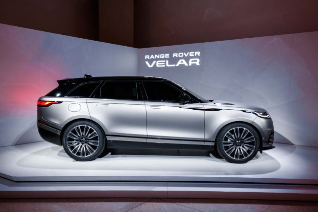 Range Rover Velar launch at Design Museum, London