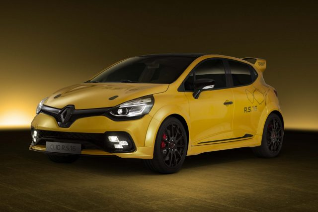 2016 Renault Clio RS 16 concept - front, yellow