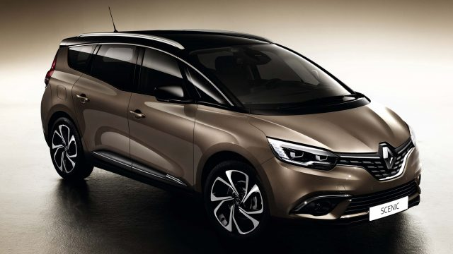 Renault Grand Scenic IV - front