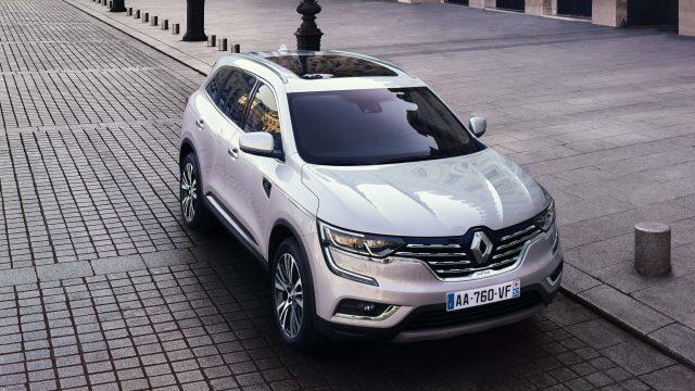 Renault Koleos Initiale Paris - front, white