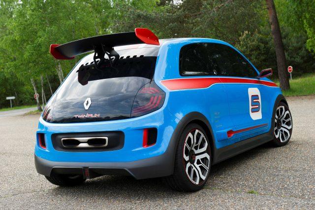 Reanult TwinRun concept - rear