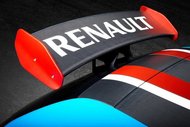 Reanult TwinRun concept - rear wing