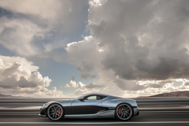 Rimac Concept_One - side