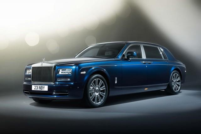 2015 Rolls-Royce Phantom Limelight (RR01) - front