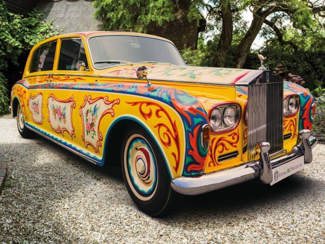 John Lennon\'s 1965 Rolls-Royce Phantom V - front
