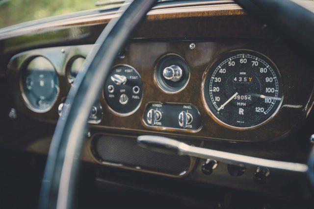 John Lennon\'s 1965 Rolls-Royce Phantom V - interior, dashboard