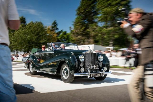 Rolls-Royce Silver Dawn Drophead Coupé by Park Ward