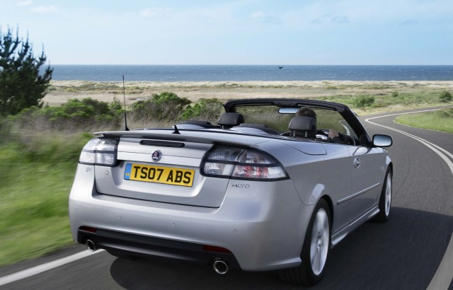 Saab 9-3 convertible - rear