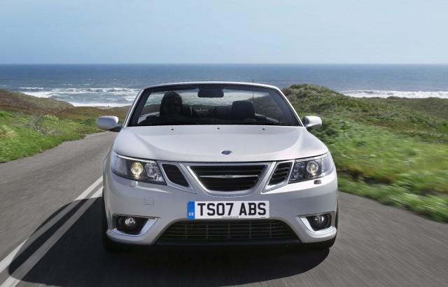 Saab 9-3 convertible - nose