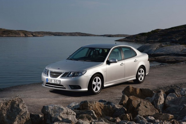 Saab 9-3 sedan facelift - front