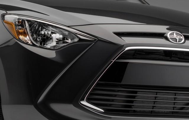 Scion iA - teaser, headlights, grille