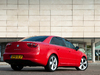 2012 Seat Exeo sedan facelift - rear, red
