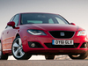 2012 Seat Exeo sedan facelift - front, red