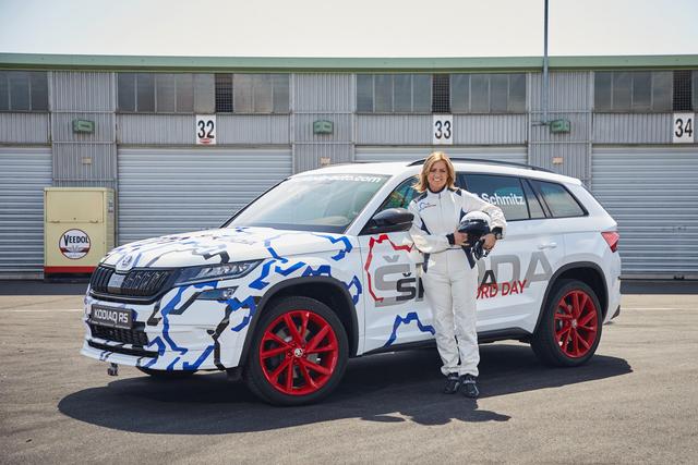 2019 Skoda Kodiaq RS Record Day - Sabine Schmitz