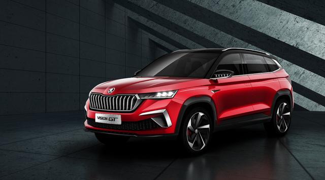 2019 Skoda Vision GT concept