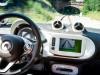 Smart ForRail - interior whilst on tracks