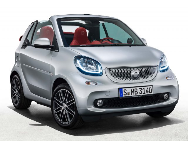 Smart ForTwo Brabus Edition #2 - front, silver