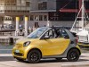 A453 Smart ForTwo Cabrio - front, yellow and gray