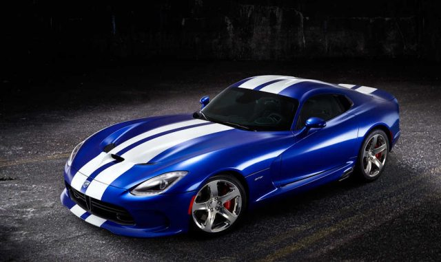 2013 SRT Viper GTS Launch Edition - front