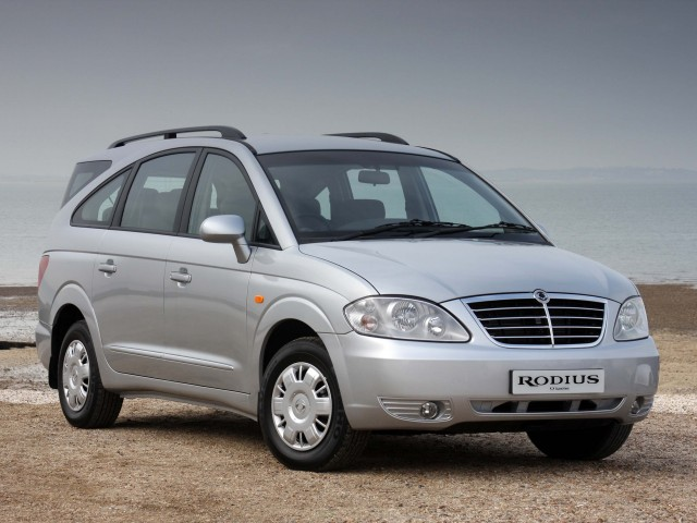 2007 SsangYong Rodius facelift - front