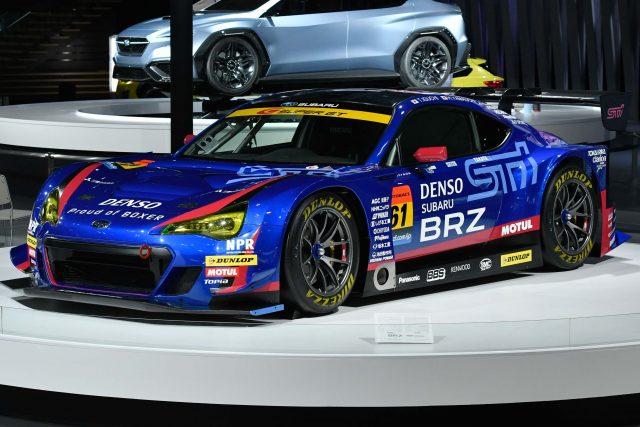 Subaru BRZ GT300 - front