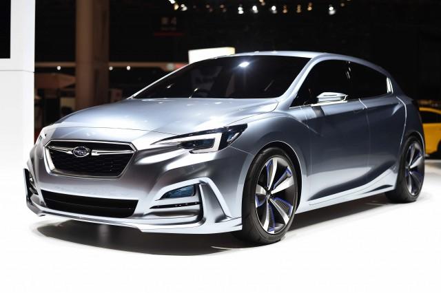 2015 Subaru Impreza 5-Door Concept - front