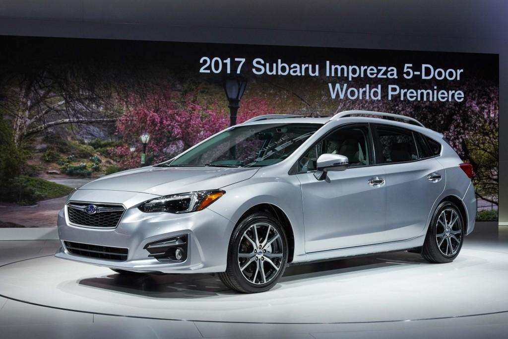 Crosstrek 2017 Subaru Impreza Hatch Front