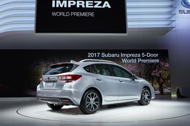 Crosstrek 2017 Subaru Impreza Hatch Rear