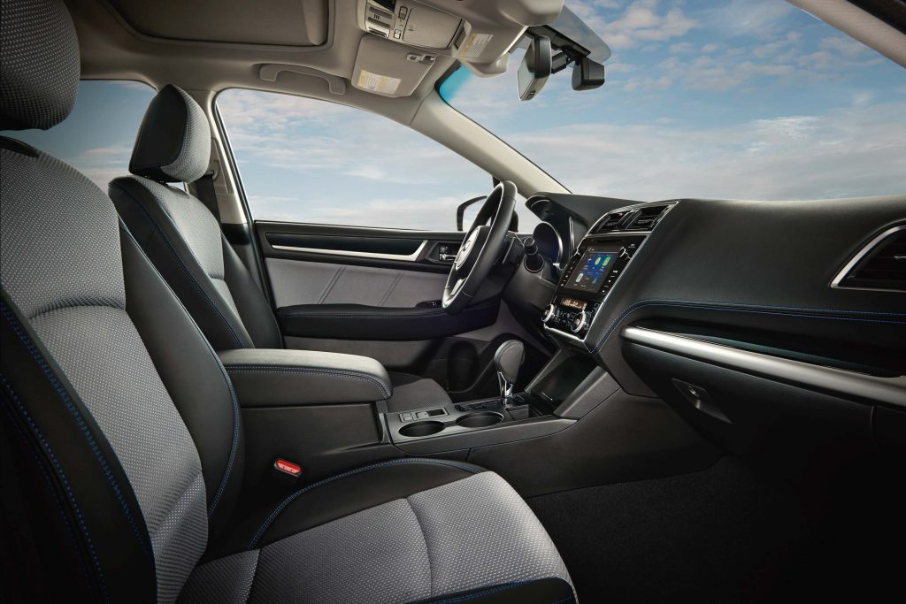 2018 Subaru Legacy facelift - front seats