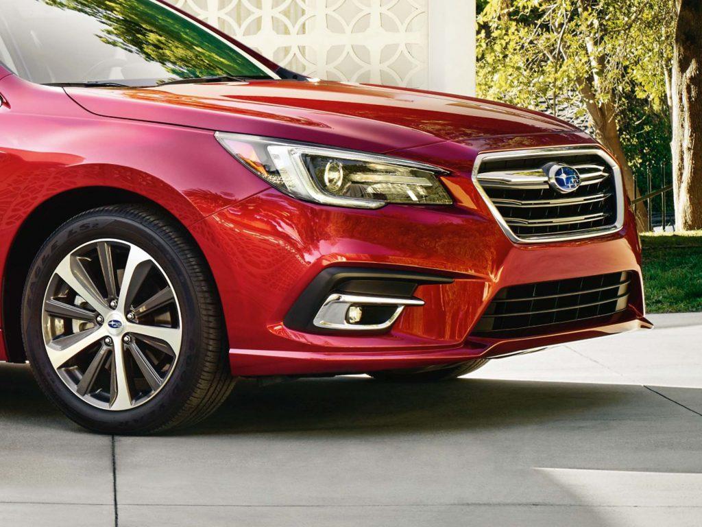 2018 Subaru Legacy facelift - front fascia