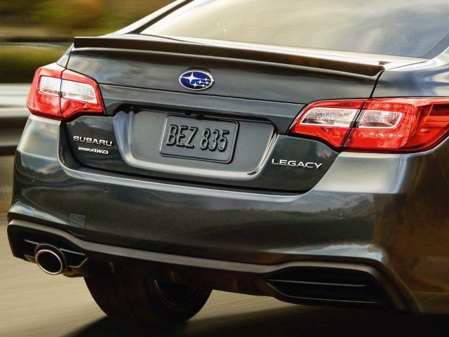 2018 Subaru Legacy facelift - rear