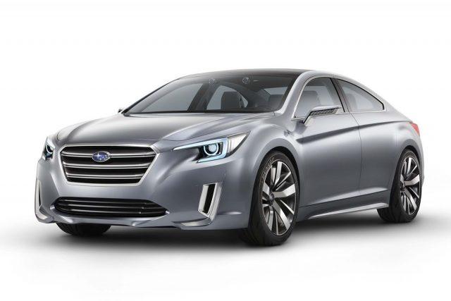 Subaru Legacy Concept 2013 Photos Between The Axles