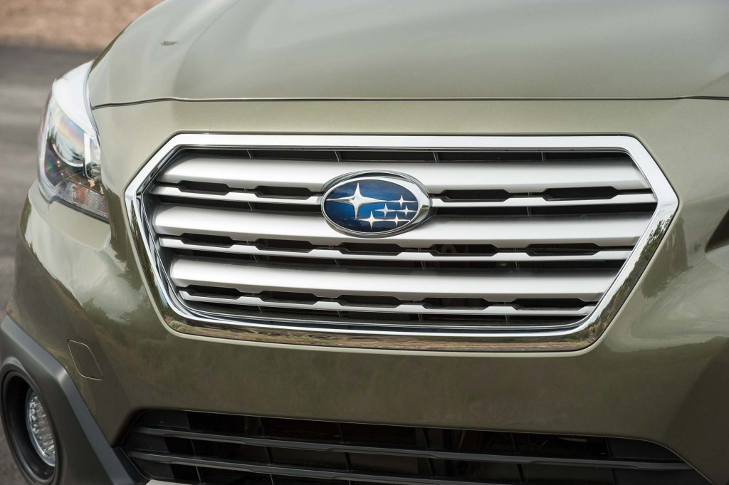 BS Subaru Outback - grille