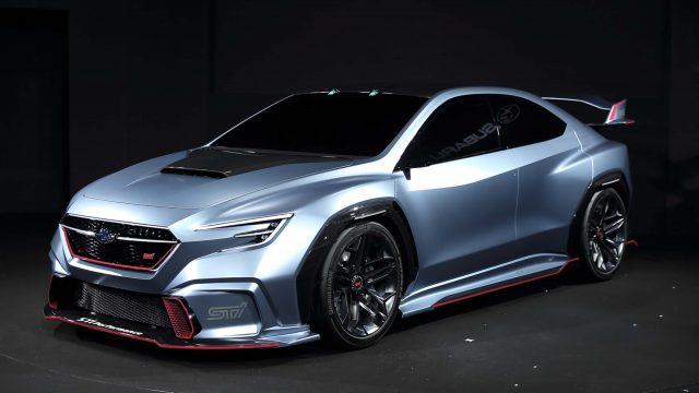 2018 Subaru Viziv Performance STI Concept - front