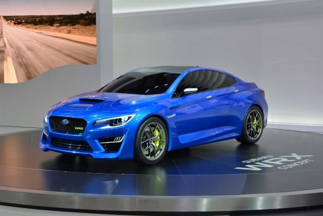 2013 Subaru WRX Concept - front, Frankfurt Motor Show 2013