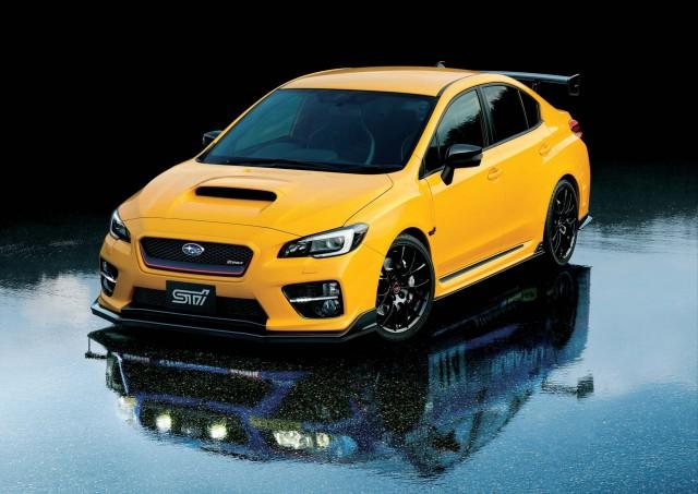 Va Subaru Wrx Sti S207 Yellow Edition Front