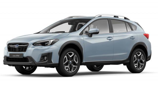 2017 Subaru XV - front, blue