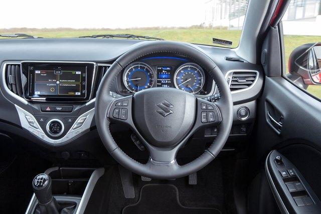 2017 Suzuki Baleno - interior, dashboard