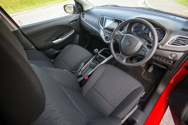 2017 Suzuki Baleno - interior, dashboard, front seats