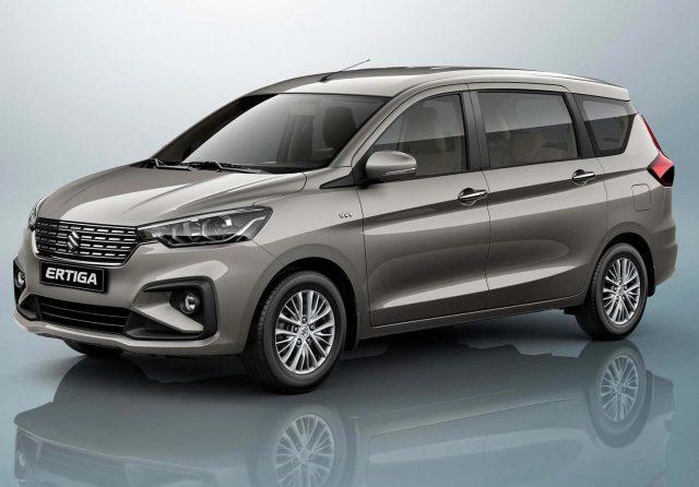 2018 Suzuki Ertiga - front
