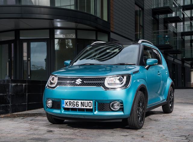 2017 Suzuki Ignis - front, blue