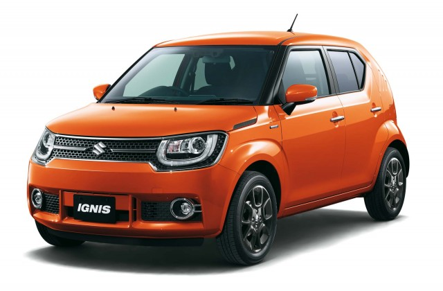Suzuki Ignis (second generation) - front, orange
