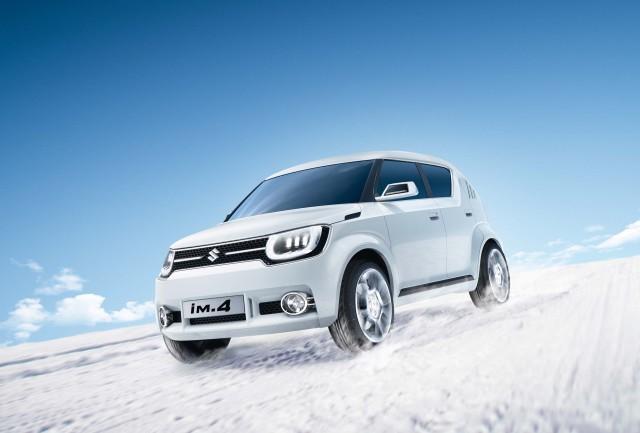 Suzuki iM-4 concept car - snow