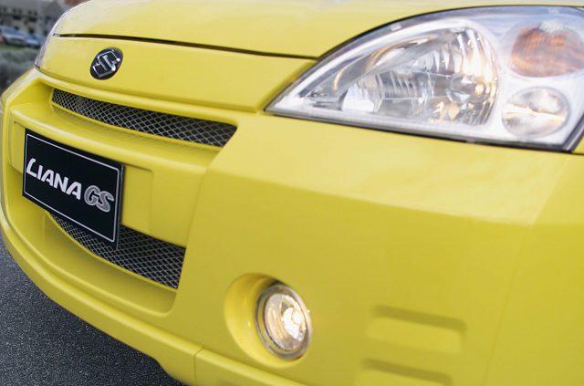 2003 Suzuki Liana GS - grille, bumper, headlamps