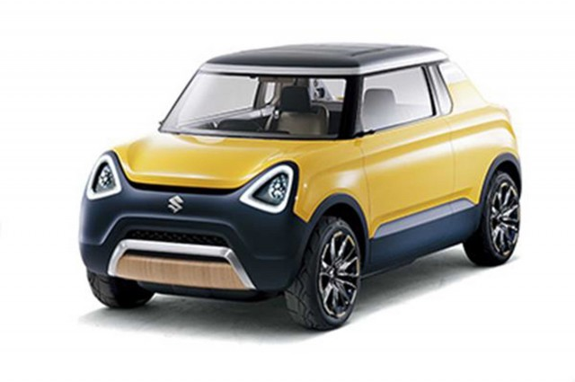 Suzuki Mighty Deck concept - front
