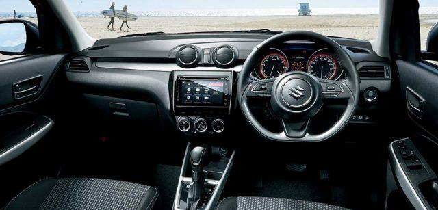 2017 Suzuki Swift - interior, dashboard