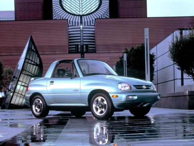Suzuki X-90 - front, light blue