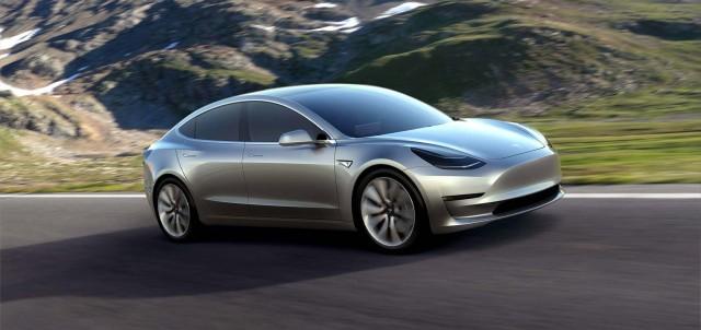 Tesla Model 3 - front